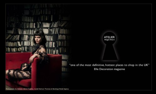 ATELIER Abigail Ahern website