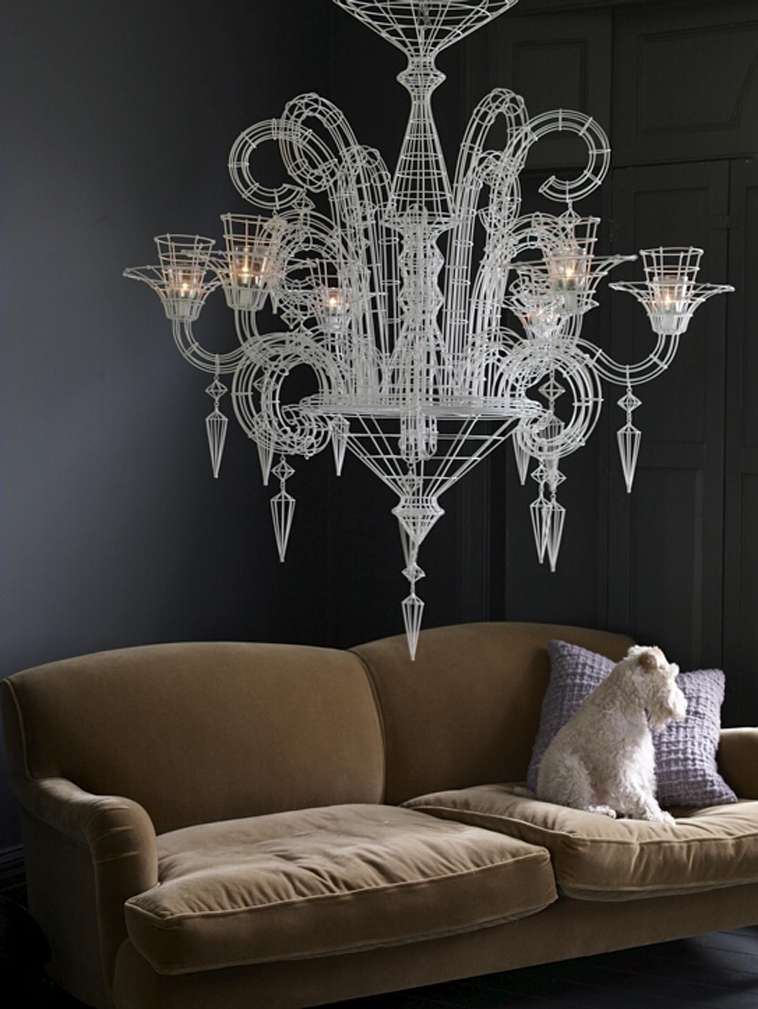 Love your chandeliers