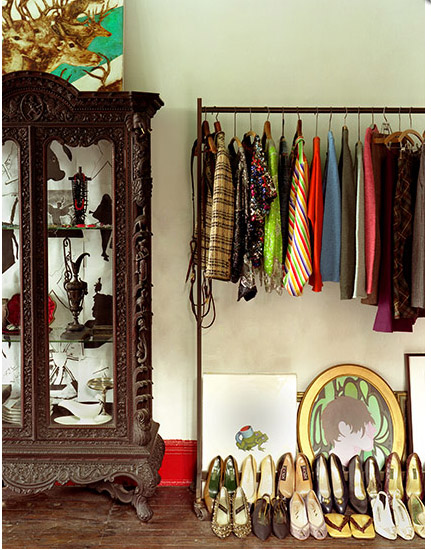 Closets, wardrobes and displaying your clothes