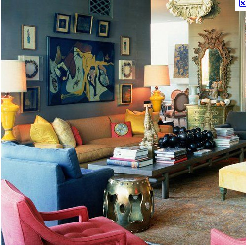 Creating an eclectic interior abigail ahern blog for Eclectic interiors