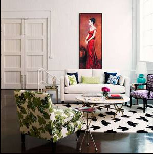 Decorating the eclectic way
