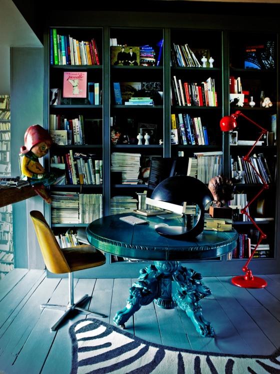 アビゲイル・レッスン:ホームオフィス(ワークスペース・書斎コーナー)について