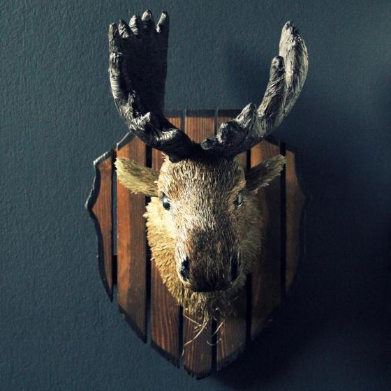 Mini Moose Head